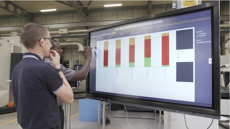 Argenta delivers Industry 4.0 data capture solution for the AMRC