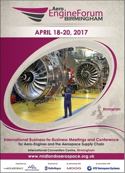 Aero Engine Forum Birmingham 2017 flyer