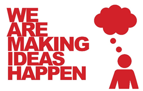 Natep we are making ideas happen logo