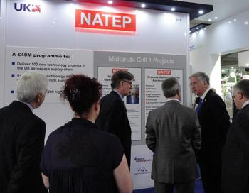 Michael Fallon speaking to the NATEP team