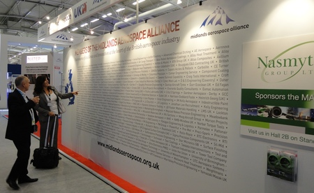 MAA member wall of fame MAA stand Paris 2013
