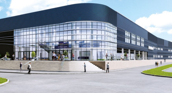 Artists impression for hall 1