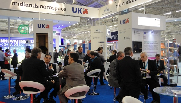 Busy day on MAA stand Paris 2013